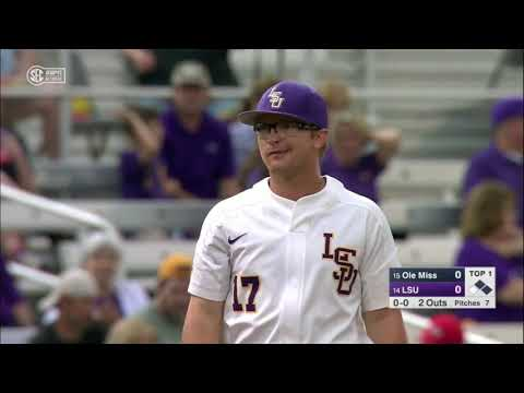 2019 NCAA Baseball #15 Ole Miss @ #14 LSU 5 3 2019