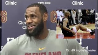LeBron James Updates Chris Paul Injury & Reviews Rockets vs Warriors Ahead Of Cavs vs Celtics Game 6