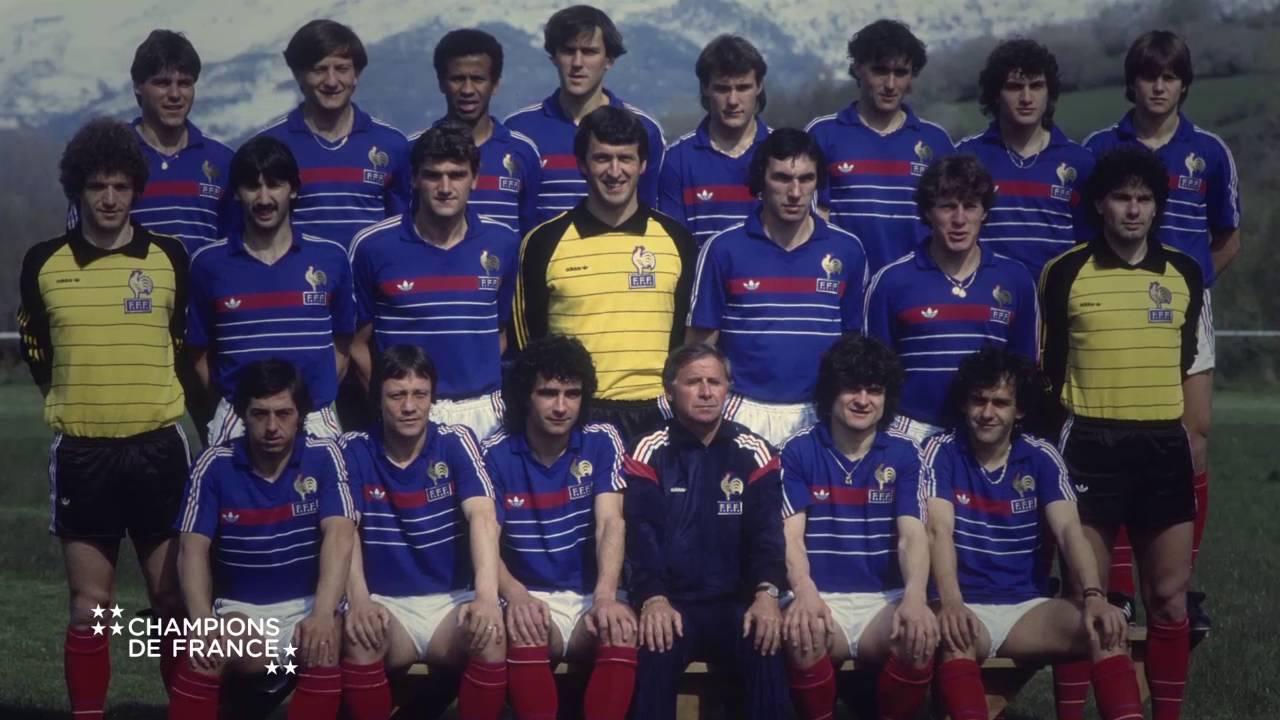 l 39 quipe de france de football 1984 de la s rie champions de france youtube