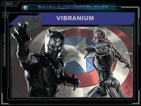 Marvel Encyclopedie - Vibranium