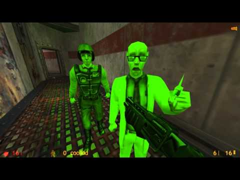 Half-Life - Cкоростное прохождение 2014 / Speed run [00:20:41] World Record - (High quality)