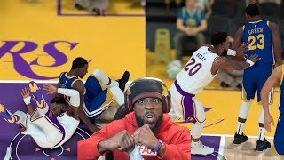 Hard Technical Foul From Draymond Green! I'M MAD! Lakers vs Warriors NBA 2K19 MyCareer Ep 50