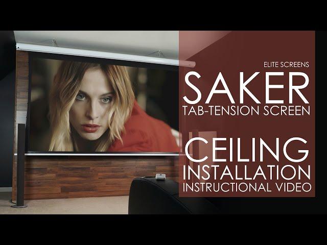 Saker Tab-Tension Ceiling Installation