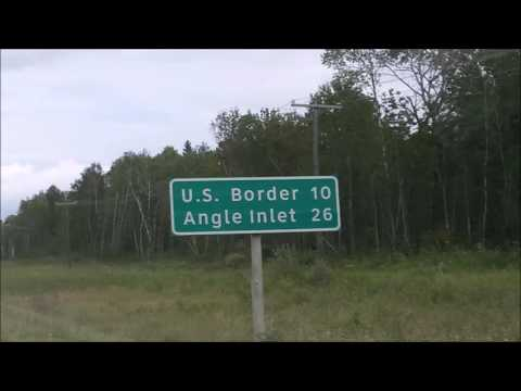 Northwest Angle Minnesota - Driving - Northern Most Point in USA (Shorter & Clean Version)