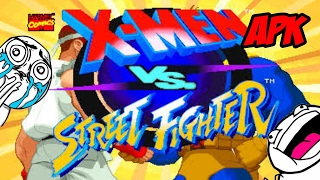 X-Men vs Street Fighter para android[sin emulador]apk by Android Play YT