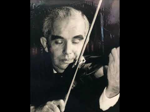 Endre Wolf plays Brahms violin concerto