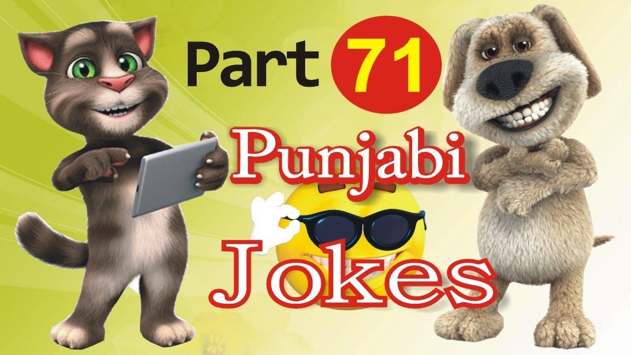 Top Funny Jokes  | in Punjabi Talking Tom & Ben News Episode 71