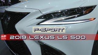 2019 Lexus LS 500 F-Sport - Exterior And Interior - 2018 LA Auto Show