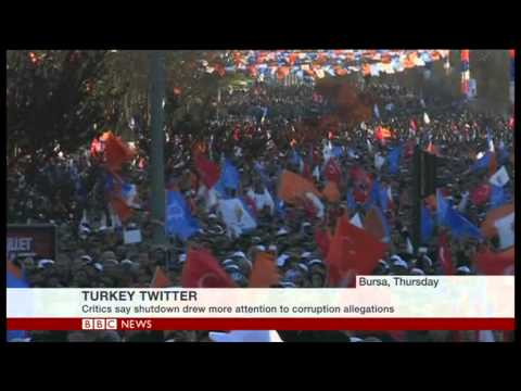 BBC Jody Sabral live on Twitter ban in Turkey