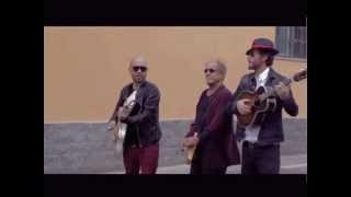Adriano, Lorenzo e Giuliano durante le prove