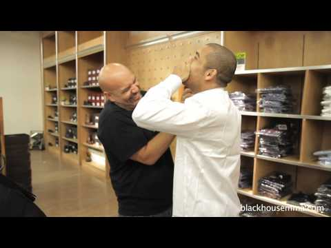 Jose Aldo shopping for his first suit