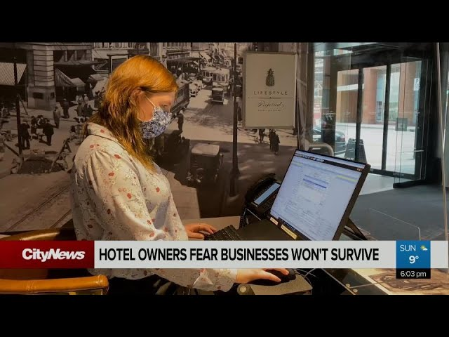 Montreal hotel owners fear for their business' survival, ask province for help