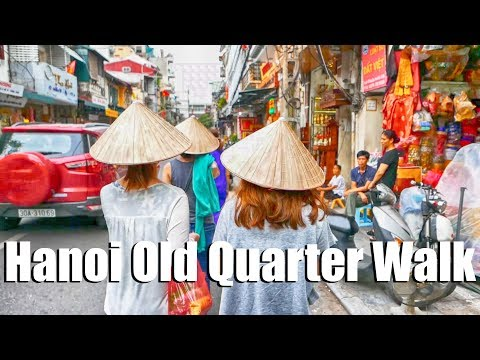 A 20 Minute Walk Through Hanoi's Old Quarter