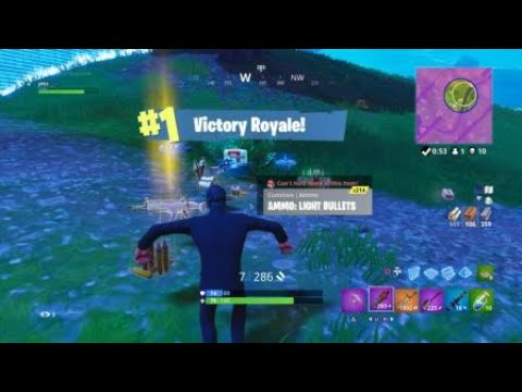 Fortnite John Wick Solo Win Youtube