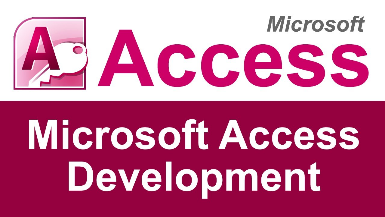 Microsoft Access Development and Developers  YouTube