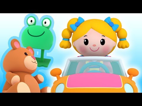 Driving in my Car and more | Mother Goose Club Nursery Rhymes | ABC Phonics & More Kids Songs