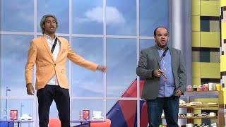 مسرح مصر - علي ربيع ومحمد عبد الرحمن يغنيان أغنية سجن القناطر