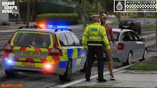 GTA5 Roleplay (Police) - Volvo ANPR Catches Stolen & Unroadworthy Vehicles - Westminster RPC E3