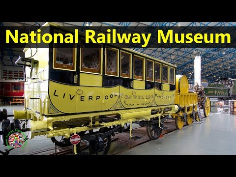Best Tourist Attractions Places To Travel In UK-England | National Railway Museum Destination Spot