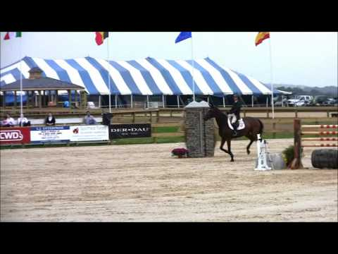 Georgina Bloomberg and Radio City Win the $10,000 Welcome Stake at Princeton Show Jumping 10/4/12