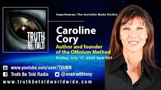 Superhuman and Remote Viewing with Caroline Cory