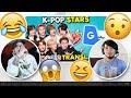 K-Pop Stars Vs. Google Translate Ft. Stray Kids | NSD REACTION