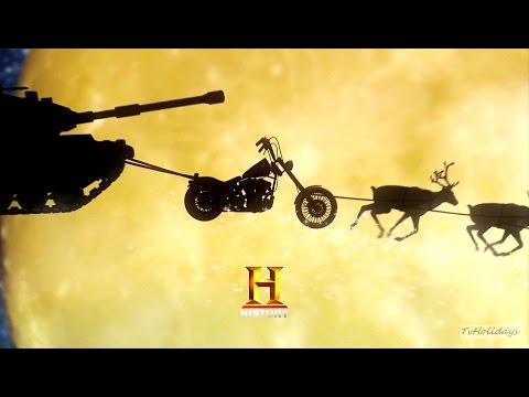 History HD Europe Christmas Advert and Ident 2016