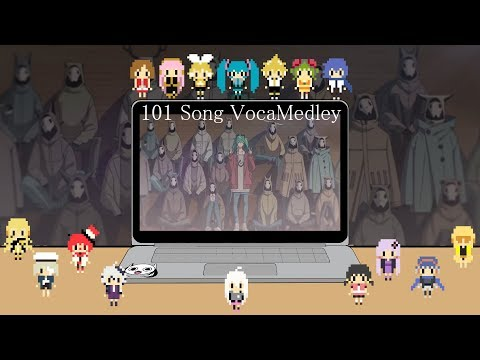 Miku 10th Anniversary VocaMedley (101 Songs)