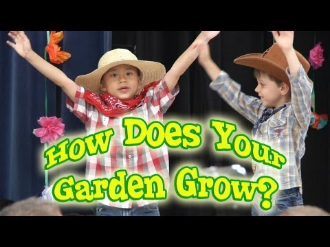 HOW DOES YOUR GARDEN GROW? The Musical!