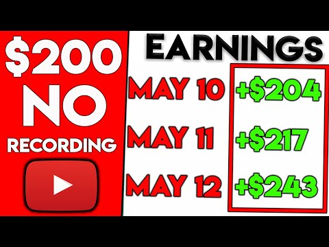 How To Make $200 On Youtube Without Recording Any Videos [Still Working 2019]
