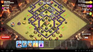 Clash of Clans Town Hall 8 War Strategy: TH8 Army Composition Guide