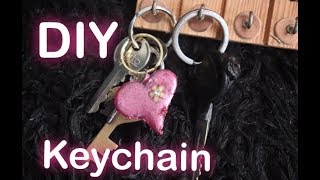 DIY Keychain using Glue Gun | Dhruvi Shah