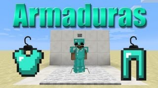 Conversa séria + Guarda-armaduras - Minecraft Tutorial 55