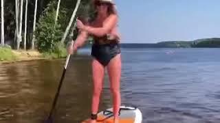 Катание на Сап досках!!! Сап Сёрф! Развлечения на воде!