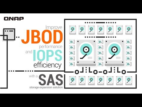 Improve JBOD performance and IOPS efficiency with a SAS storage expansion solution