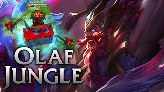 SKT T1 Olaf Jungle Obliteration - League of Legends