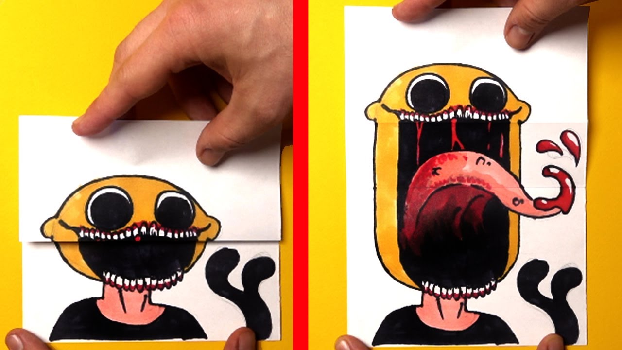 AWESOME & FUNNY FRIDAY NIGHT FUNKIN' PAPER CRAFTS TO DO AT HOME