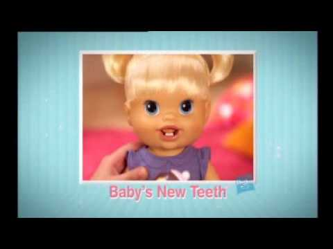 Baby Alive Baby's New Teeth Twins Aubree and Abby Go To ...  |Baby Alive New Teeth
