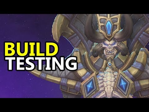 ♥ New Gamescom2017 Hero Build Testing - Heroes of the Storm (HotS)