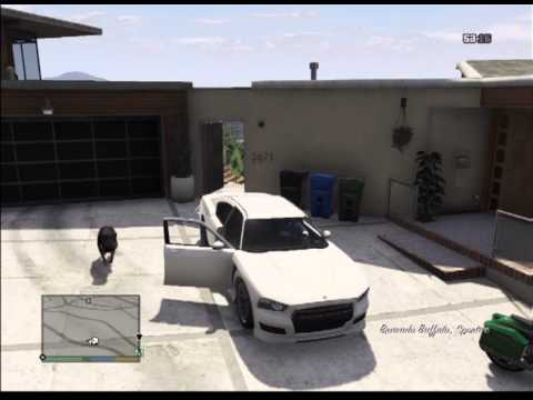 GTA 5 Le chien de franklin - YouTube