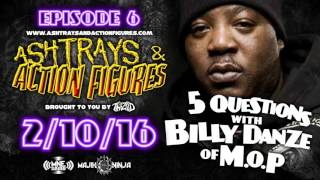 Twiztid - 5 Questions With Billy Danze Of M.O.P. - Ashtrays & Action Figures Episode 6