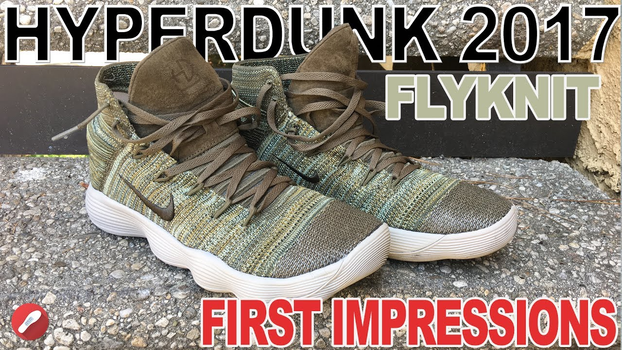 e65f15fdbff Nike React Hyperdunk 2017 Flyknit First Impressions! - YouTube