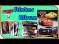 CARS 3 STICKER ALBUM ? Disney Pixar Cars 3 Collectible Stickers ? Lightning McQueen