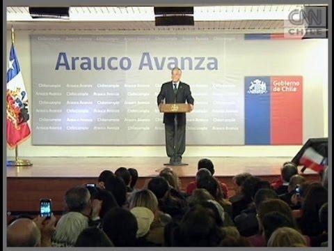 """Presidente Piñera dio a conocer el """"Plan Arauco Avanza"""""""