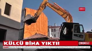 KÜLCÜ BİNA YIKTI!