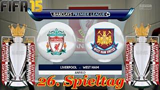 FIFA 15 - FC Liverpool gegen West Ham United (26. Spieltag) ◄LIV #49►