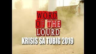 #WordoftheLourd | KRISIS SA TUBIG 2019