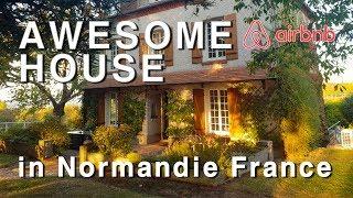 Gambar cover [airbnb] Crazy fantastic awesome house in Normandie France 프랑스 노르망디의 죽여주는 에어비앤비 숙소 만화에서나 나올 법한 집