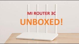 Xiaomi Mi Router 3C | Unboxing | Review