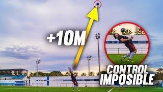 CONTROL IMPOSIBLE +10 METROS ¡Retos de Fútbol!